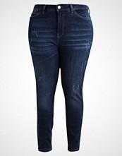 Junarose JRFIVESLIM  Slim fit jeans dark blue denim
