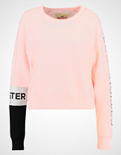 Hollister Co. SPORTY CROPPED CREW Genser ligh pink