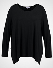 Anna Field Curvy LONG SLEEVE SHIRT WITH ROUNDE Topper langermet black