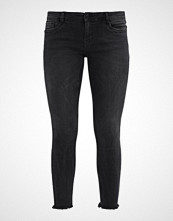Vero Moda VMFIVE DESTROYED HEM ANKLE  Jeans Skinny Fit black