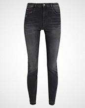 Tommy Jeans HIGH RISE SKINNY SANTANA Jeans Skinny Fit dynamic polk black stretch