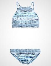 O'Neill HIGH NECK SET Bikini white/blue