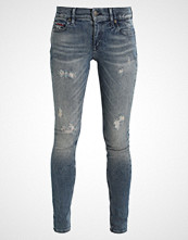 Tommy Jeans MID RISE SKINNY NORA Jeans Skinny Fit dynamic stockton mid blue stretch destroyed
