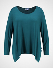 Anna Field Curvy LONG SLEEVE SHIRT WITH ROUNDE Topper langermet dark green