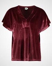 Saint Tropez V NECK Tshirts med print berry