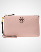 Tory Burch MCGRAW TOP ZIP  Skulderveske pink quartz