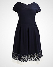 Anna Field Curvy Jerseykjole dark blue/offwhite