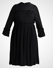 Lost Ink Plus SKATER DRESS  Jerseykjole black