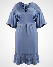 Lost Ink Plus FIT & FLARE DRESS  Sommerkjole blue