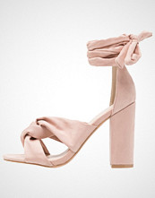 Glamorous Sandaler med høye hæler dusty pink