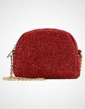 Missguided GLITTER MINI CROSS BODY BAG Skulderveske red