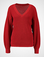 Cream ANNABELL Jumper american beauty red