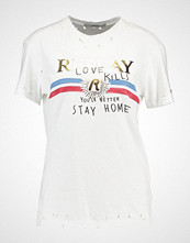 Replay Tshirts med print optical white