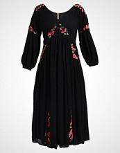 Free People DAY GLOW MIDI Fotsid kjole black