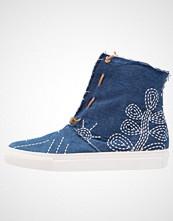 Felmini FAME Høye joggesko jeans blue