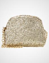Missguided GLITTER MINI CROSS BODY BAG Skulderveske gold