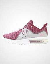 Nike Performance WMNS AIR MAX SEQUENT 3 Nøytrale løpesko bordeaux/elemental pink/wolf grey