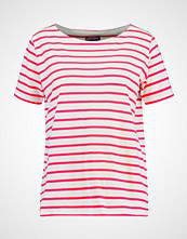 Armor-Lux Tshirts med print milk/rapsberry