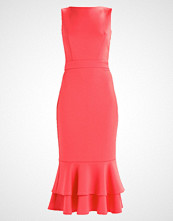 True Violet PENCIL DRESS WITH FRILL HEM Cocktailkjole coral red