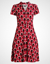 King Louie EMMY DRESS PEACOCK Jerseykjole beaujolais red