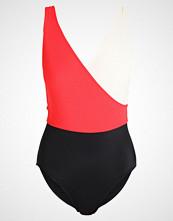 Solid & Striped BALLERINA Badedrakt red cream black