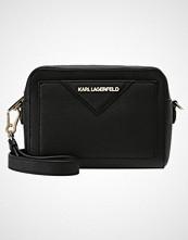 Karl Lagerfeld KLASSIK CAMERA BAG Skulderveske black/gold