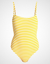 Solid & Striped THE CHELSEA Badedrakt mustard