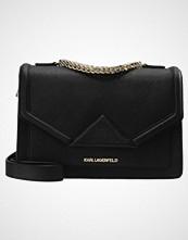 Karl Lagerfeld KLASSIK SHOULDERBAG Skulderveske black/gold