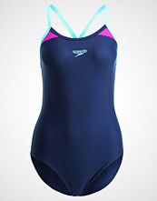 Speedo Badedrakt navy/diva/spearmint