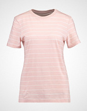 Selected Femme SFMY PERFECT TEE THIN STRIPE Tshirts med print sepia rose