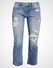 Liu Jo Jeans FRAY Straight leg jeans destroyed denim