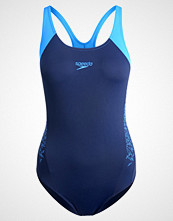 Speedo BOOM SPLASH  Badedrakt navy/neon blue