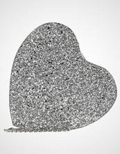 Missguided GLITTER HEART BAG Skulderveske silver
