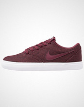 Nike Sb CHECK SOLAR Joggesko night maroon/blanc