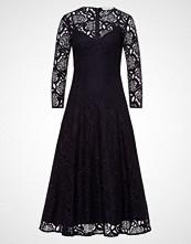 IVY & OAK MIDI DRESS Fotsid kjole navy blue