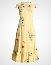 IVY & OAK WRAP DRESS CAP SLEEVE VOLANT Fotsid kjole lemon sorbet