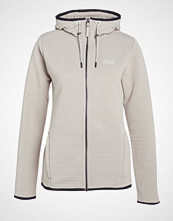 Jack Wolfskin MODESTO HOODED WOMEN Turjakke dusty grey