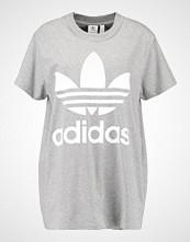 Adidas Originals ADICOLOR BIG TREFOIL TEE Tshirts med print grey