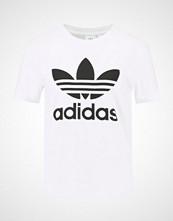 Adidas Originals ADICOLOR TREFOIL TEE Tshirts med print white