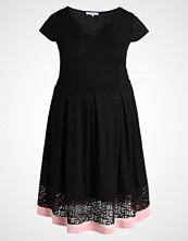 Anna Field Curvy Jerseykjole black/rose