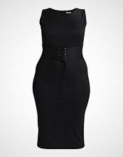 Glamorous Curve BODCON WITH WAIST CORSET  Cocktailkjole black