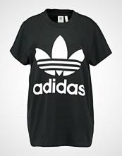 Adidas Originals ADICOLOR BIG TREFOIL TEE Tshirts med print black