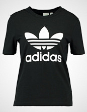 Adidas Originals ADICOLOR TREFOIL TEE Tshirts med print black