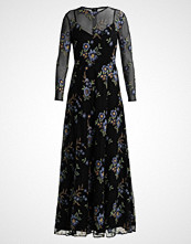 IVY & OAK EMBROIDERED EVENING DRESS Fotsid kjole black