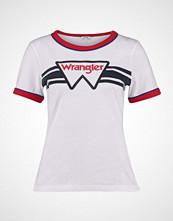 Wrangler RINGER TEE Tshirts med print white