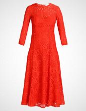 IVY & OAK MIDI DRESS Fotsid kjole pumpkin red