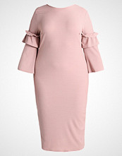 Lost Ink Plus BODYCON DRESS Jerseykjole blush