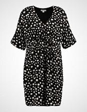 Whistles FRANCES GATHERED ECLIPSE PRINT DRESS Sommerkjole black/white