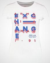 Armani Exchange Tshirts med print white
