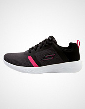 Skechers Performance GO RUN 600 Nøytrale løpesko black/hot pink